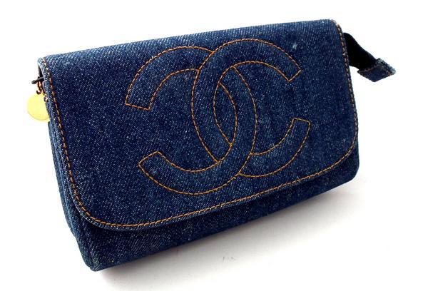 シャネル デニムの財布
