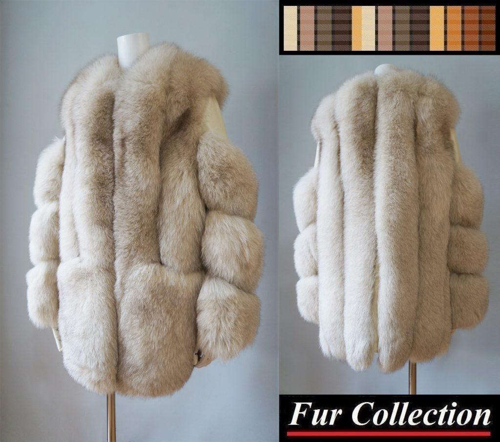 無名の毛皮コート